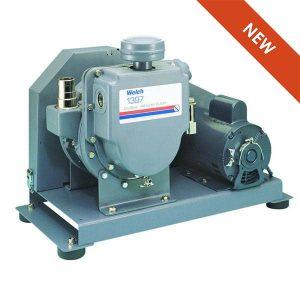 Welch Vacuum 2014B-01 DryFast Vacuum Pump 35 LPM 40 Torr Oil-Free Diaphragm PTFE 115V