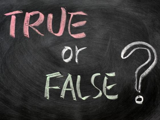 True or False Vacuum Facts